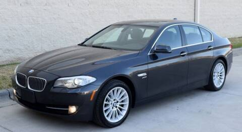 2012 BMW 5 Series for sale at Raleigh Auto Inc. in Raleigh NC