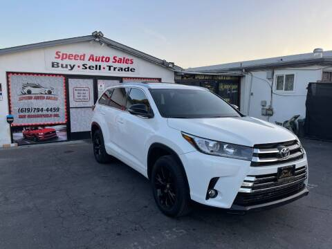 2016 Toyota Highlander for sale at Speed Auto Sales in El Cajon CA
