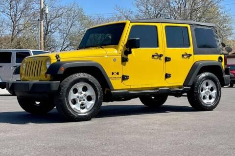 2008 Jeep Wrangler Unlimited for sale at Island Auto Off-Road & Sport in Grand Island NE