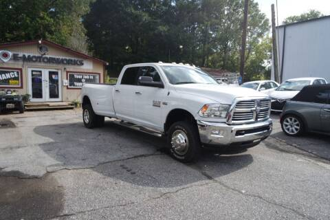 2015 RAM Ram Pickup 3500 for sale at E-Motorworks in Roswell GA