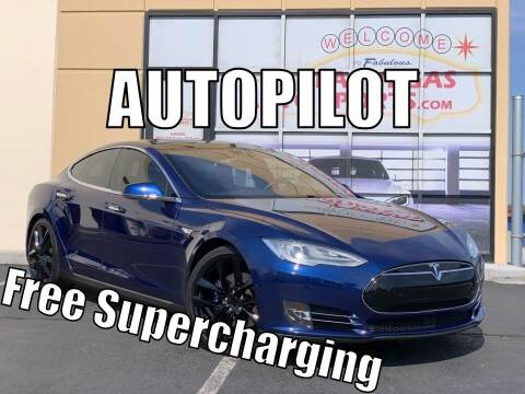 2015 Tesla Model S for sale at Las Vegas Auto Sports in Las Vegas NV