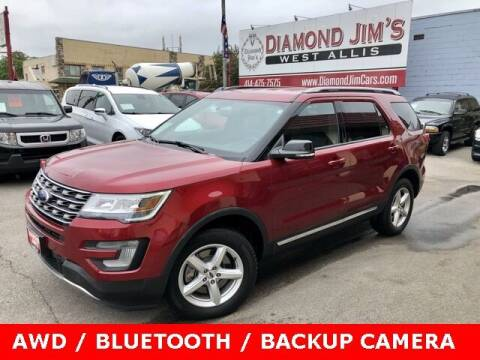 2017 Ford Explorer for sale at Diamond Jim's West Allis in West Allis WI