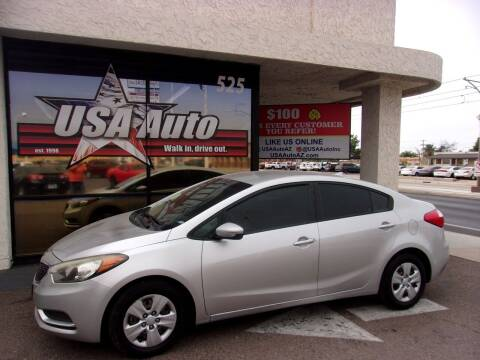 2014 Kia Forte for sale at USA Auto Inc in Mesa AZ