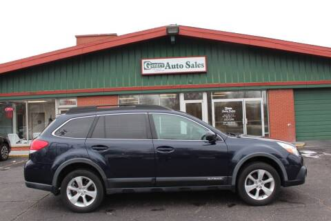 2013 Subaru Outback for sale at Gentry Auto Sales in Portage MI