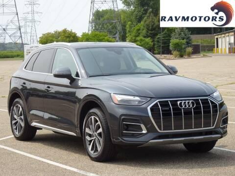 2021 Audi Q5 for sale at RAVMOTORS in Burnsville MN