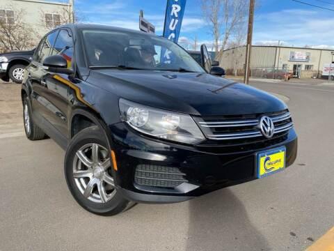 2013 Volkswagen Tiguan for sale at New Wave Auto Brokers & Sales in Denver CO