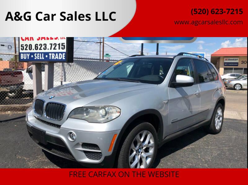 2012 BMW X5 for sale at A&G Car Sales  LLC in Tucson AZ