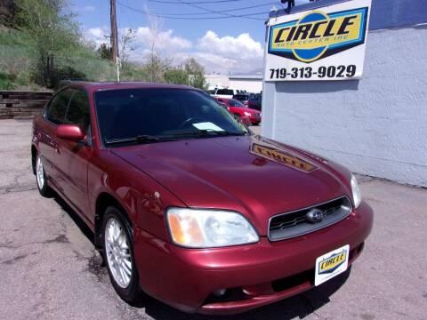 2004 Subaru Legacy for sale at Circle Auto Center in Colorado Springs CO