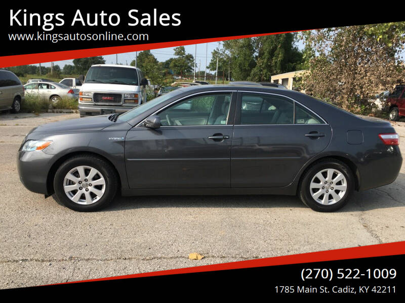 2009 Toyota Camry Hybrid for sale at Kings Auto Sales in Cadiz KY