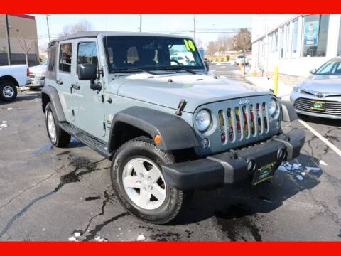 2014 Jeep Wrangler Unlimited for sale at AUTO POINT USED CARS in Rosedale MD