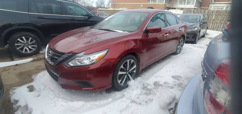 2017 Nissan Altima for sale at Divine Auto Sales LLC in Omaha NE