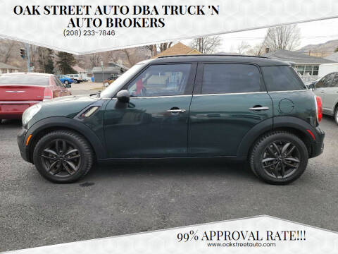 2011 MINI Cooper Countryman for sale at Oak Street Auto DBA Truck 'N Auto Brokers in Pocatello ID