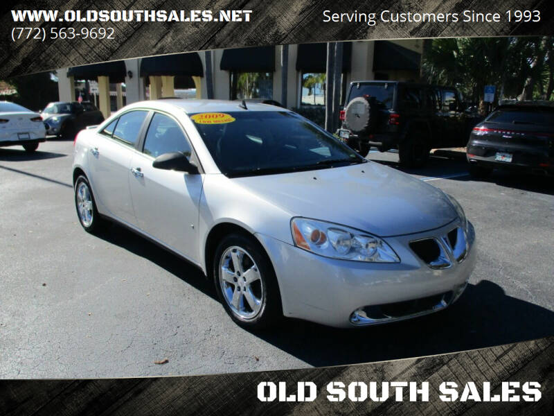 2009 Pontiac G6 for sale at OLD SOUTH SALES in Vero Beach FL