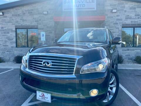 2012 Infiniti QX56 for sale at GREENVILLE AUTO in Greenville WI
