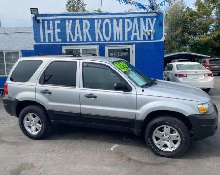 2007 Ford Escape for sale at The Kar Kompany Inc. in Denver CO
