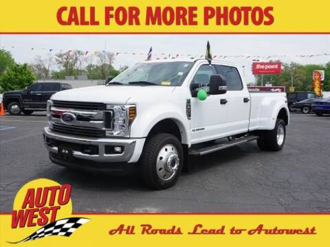 2019 Ford F-450 Super Duty for sale at Autowest of Plainwell in Plainwell MI