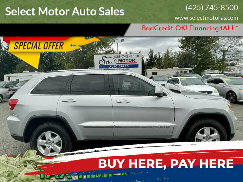 2011 Jeep Grand Cherokee for sale at Select Motor Auto Sales in Lynnwood WA