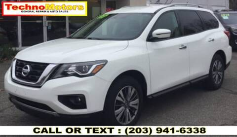 2017 Nissan Pathfinder for sale at Techno Motors in Danbury CT