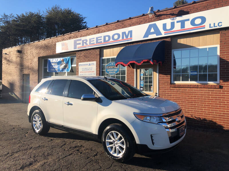 2013 Ford Edge for sale at FREEDOM AUTO LLC in Wilkesboro NC