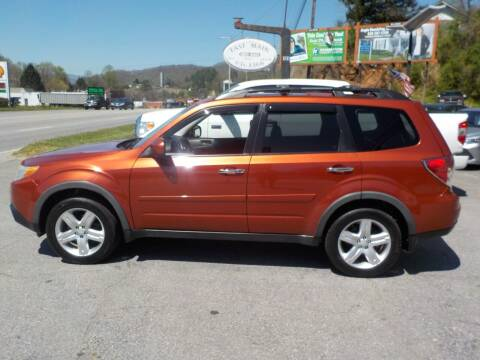 2010 Subaru Forester for sale at EAST MAIN AUTO SALES in Sylva NC