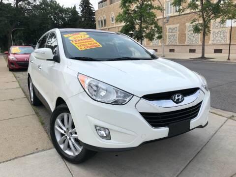 2012 Hyundai Tucson for sale at Jeff Auto Sales INC in Chicago IL
