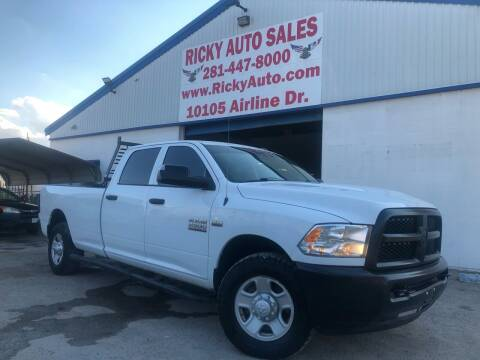 2014 RAM Ram Pickup 2500 for sale at Ricky Auto Sales in Houston TX