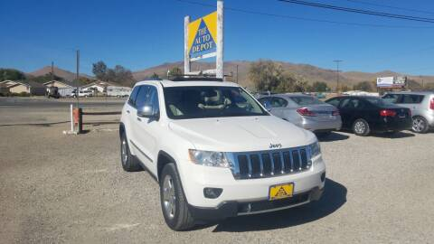 2011 Jeep Grand Cherokee for sale at Auto Depot in Carson City NV