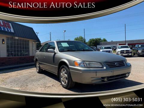 1999 Toyota Camry for sale at Seminole Auto Sales in Seminole OK
