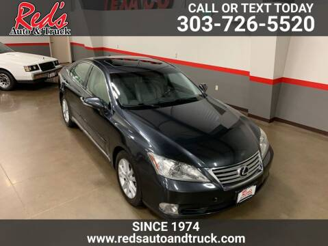 2011 Lexus ES 350 for sale at Red's Auto and Truck in Longmont CO