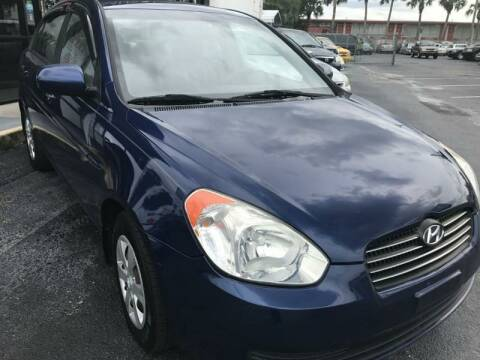 2010 Hyundai Accent for sale at WHEEL UNIK AUTOMOTIVE & ACCESSORIES INC in Orlando FL