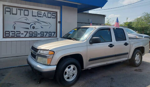 2006 Chevrolet Colorado for sale at AUTO LEADS in Pasadena TX