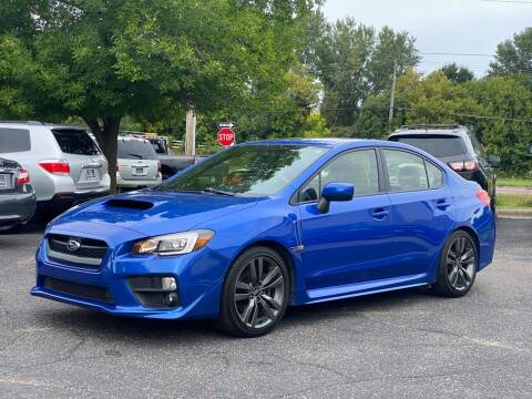 2017 Subaru WRX for sale at North Imports LLC in Burnsville MN