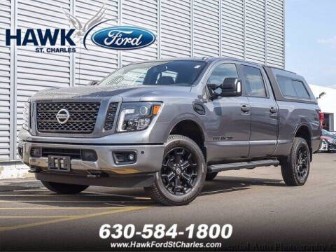 2018 Nissan Titan XD for sale at Hawk Ford of St. Charles in Saint Charles IL