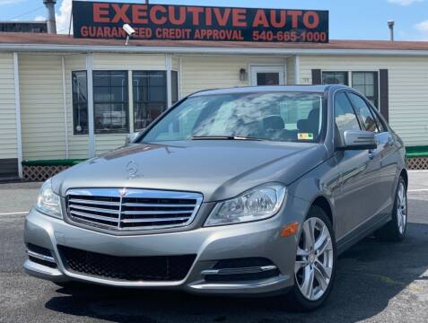 2013 Mercedes-Benz C-Class for sale at Executive Auto in Winchester VA