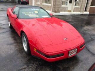 1992 Chevrolet Corvette for sale at GREAT AUTO RACE in Chicago IL