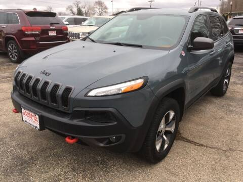 2015 Jeep Cherokee for sale at Louisburg Garage, Inc. in Cuba City WI