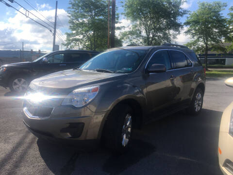 2012 Chevrolet Equinox for sale at K B Motors in Clearfield PA