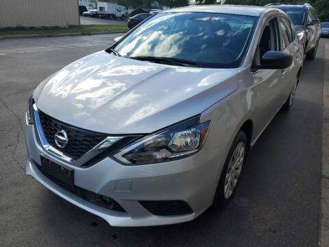 2019 Nissan Sentra for sale at MIDWEST CAR SEARCH in Fridley MN