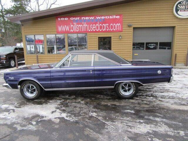 1966 Plymouth Satellite for sale at Bill Smith Used Cars in Muskegon MI
