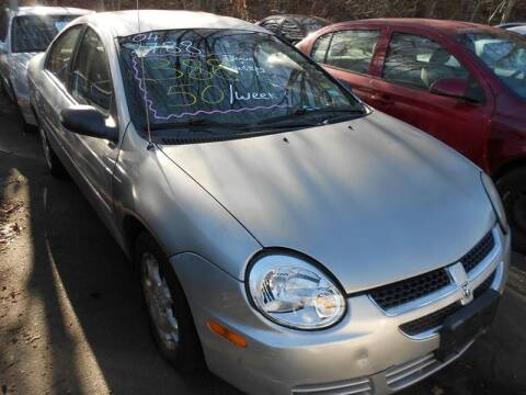 2003 Dodge Neon for sale at Cheap Auto Rental llc in Wallingford CT