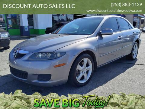 2006 Mazda MAZDA6 for sale at DISCOUNT AUTO SALES LLC in Spanaway WA