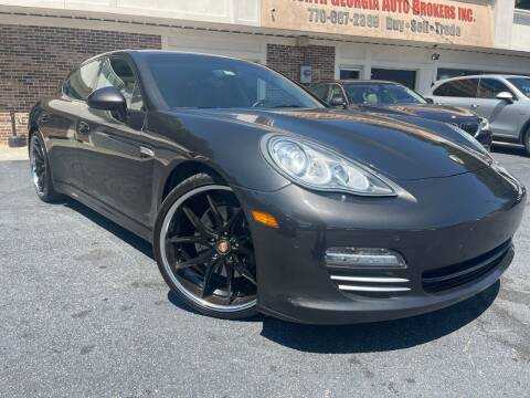 2011 Porsche Panamera for sale at North Georgia Auto Brokers in Snellville GA