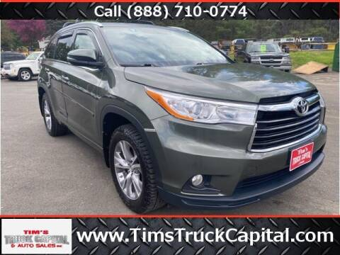 2015 Toyota Highlander for sale at TTC AUTO OUTLET/TIM'S TRUCK CAPITAL & AUTO SALES INC ANNEX in Epsom NH