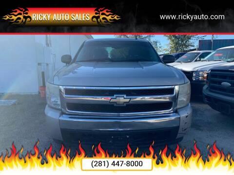 2008 Chevrolet Silverado 1500 for sale at Ricky Auto Sales in Houston TX