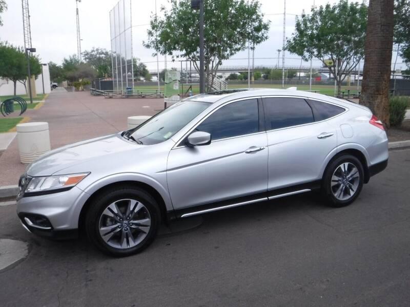 2015 Honda Crosstour for sale at J & E Auto Sales in Phoenix AZ