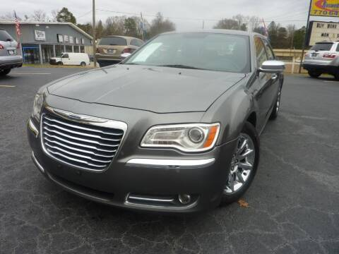 2012 Chrysler 300 for sale at Roswell Auto Imports in Austell GA