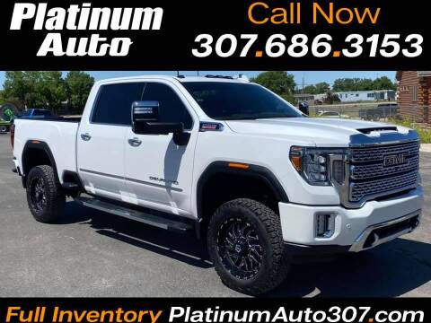 2020 GMC Sierra 2500HD for sale at Platinum Auto in Gillette WY