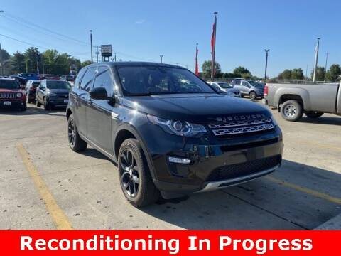 2017 Land Rover Discovery Sport for sale at Jeff Drennen GM Superstore in Zanesville OH