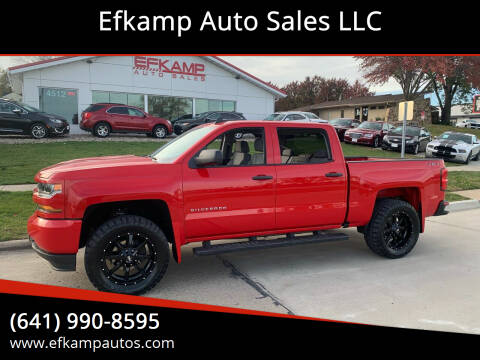 2018 Chevrolet Silverado 1500 for sale at Efkamp Auto Sales LLC in Des Moines IA