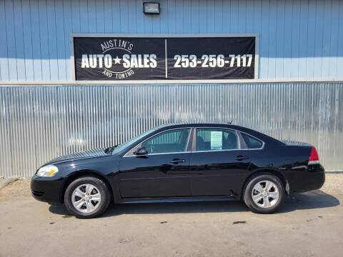 2014 Chevrolet Impala Limited for sale at Austin's Auto Sales in Edgewood WA
